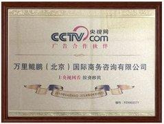 鲲鹏移民与CCTV.COM央视网成为广告合作伙伴