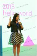 米微科技创始人刘颜萍应邀参加2015年互联网大会