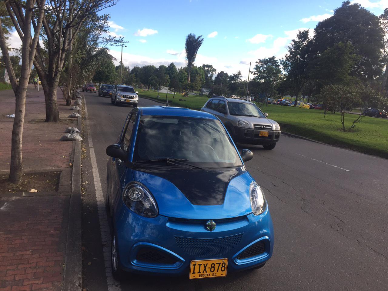 哥伦比亚首都最大汽车租赁公司向知豆伸出橄榄枝